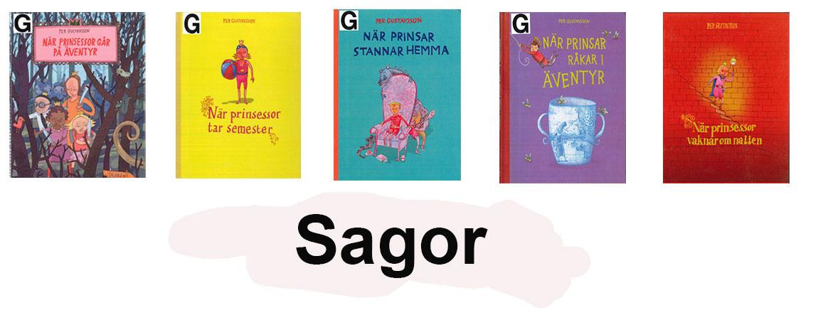 Omslag av Per Gustavsson sagor